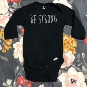 "FREE ‼️ w/ purchase - ""Be Strong"" Onesie"